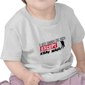 krav maga martial design tee shirt