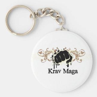 Krav Maga Punch Key Ring