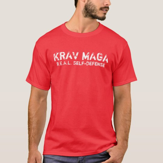 KRAV MAGA REAL self-defence T-shirt