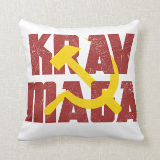 Krav Maga Russia Soviet Union Cushion