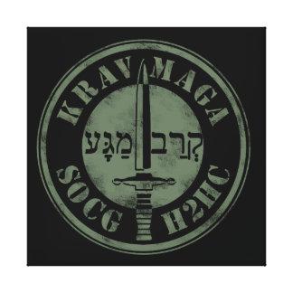 Krav Maga SOG - H2H Combat Canvas Print