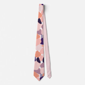 Kravatte in abstract Terrazzo Design Tie