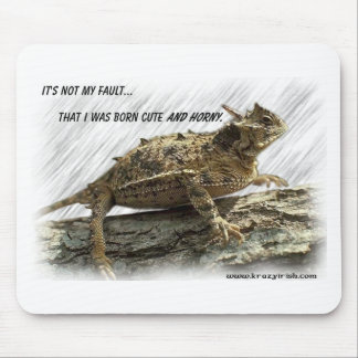 Krazy Irish Horny Toad Mouse Pad