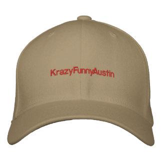 KrazyFunnyAustin Embroidered Hat