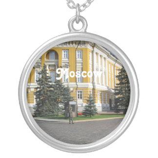 Kremlin Arsenal Round Pendant Necklace