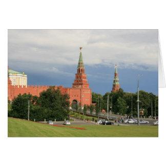 Kremlin Greeting Card