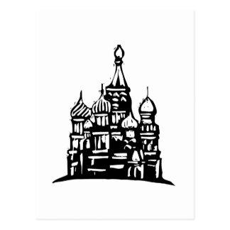 Kremlin Russia Postcard