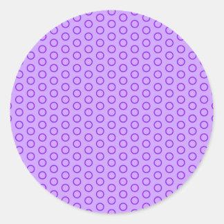 kresei scores dotted polka dots dabbed dab round sticker