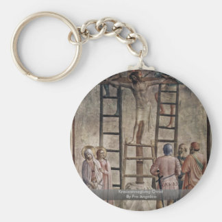 Kreuzannaglung Christ By Fra Angelico Key Chain