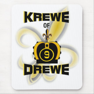 Krewe of Drewe Mouse Mat