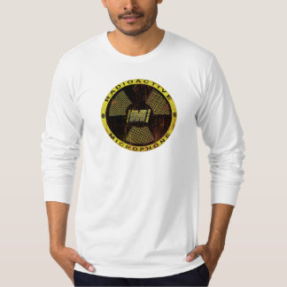 KRH Designs Mic'd Up Nuclear Microphone T-Shirt