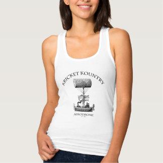 KRICKET KOUNTRY AERODROME:  Established 1824! Tank Top