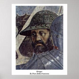 Krieger. By Piero Della Francesca Print