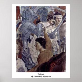 Krieger By Piero Della Francesca Poster