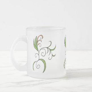 Kringel 2 frosted glass mug