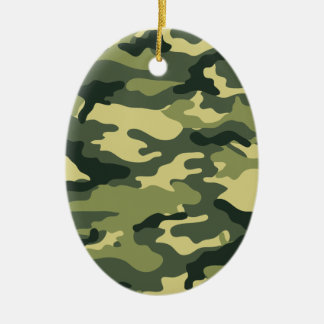 Kris alan Camouflage Christmas Ornament
