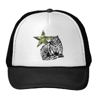 Kris Alan Grizzly bear camouflage Cap