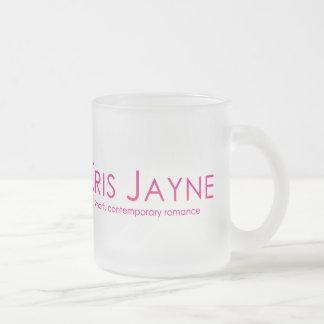 Kris Jayne Frosted Glass Mug