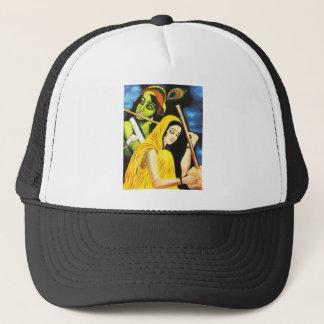 Krishna and Meera Trucker Hat