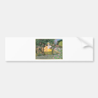 Krishna and Radha Bumper Sticker