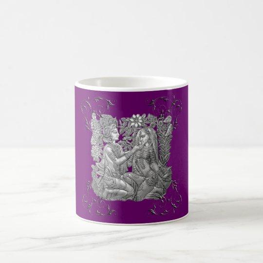Krishna and Radha Coffee Mug