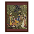 Krishna And The Girls By Indischer Maler Um 1710 ( Postcard