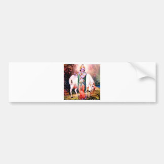 krishna bumper sticker