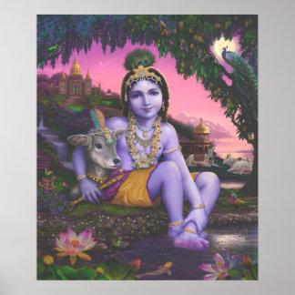 Krishna Chandra print
