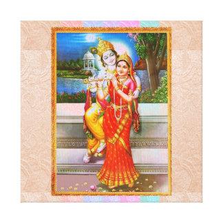 KRISHNA of GITA Gospel to Arjuna Canvas Prints