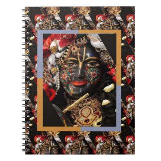 KRISHNA of Gita Spiritual Hinduism Blessing Soul Notebook