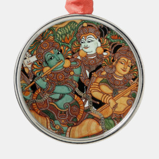 KRISHNA PLAYING THE FLUTE CHRISTMAS ORNAMENT