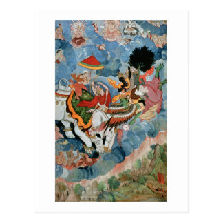 Krishna s combat with Indra c 1590 Post Card
