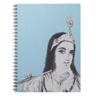 Krishna with Flute Notebooks