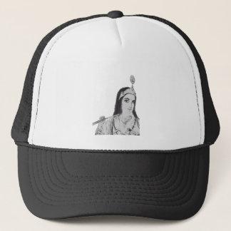 Krishna with Flute Trucker Hat
