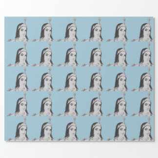 Krishna with Flute Wrapping Paper