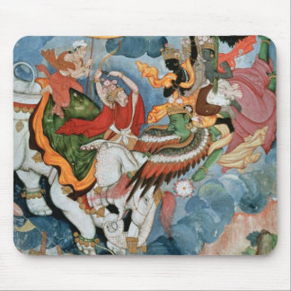 Krishna's combat with Indra, c.1590 Mouse Mat