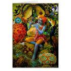 Krishna's Flute Card