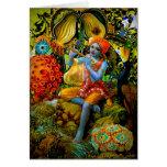 Krishna's Flute Greeting Cards