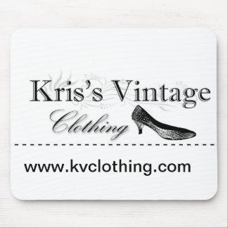 Kris's Vintage Clothing Mouse Pad