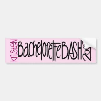Kristen Bachelorette Bash 09 Bumper Stickers