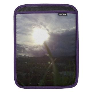 Kristiansten Festning utsikt grass 2.jpg iPad Sleeve