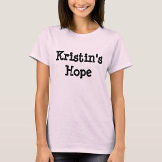 KRISTIN'S HOPE tee shirt