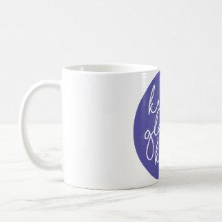 Kristy Glass Knits Mug Purple