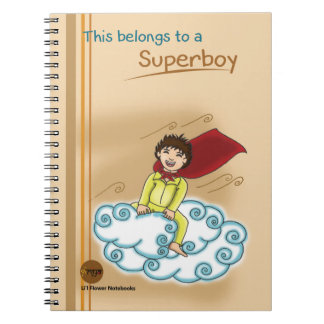 Kriya Li'l Flower Notebooks - Superboy