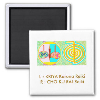 KRIYA n CHOKURAY Square Magnet