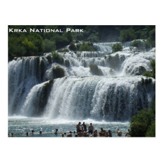 Krka National Park Postcard