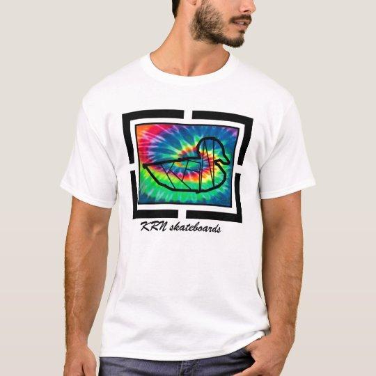 KRN skateboards design series tie dye T-Shirt
