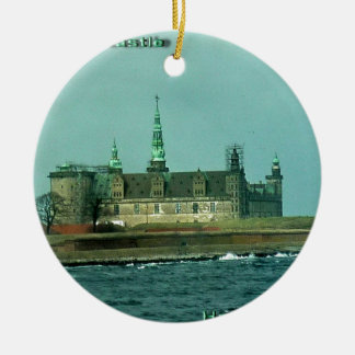 Kronborgs Castle Hamlets Castle In Denmark Christmas Ornament