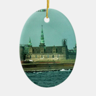 Kronborgs Castle Hamlets Castle In Denmark Christmas Ornament