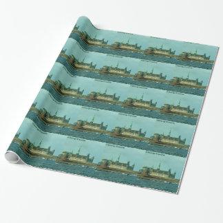 Kronborgs Castle Hamlets Castle In Denmark Wrapping Paper